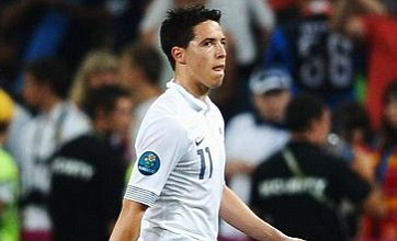 Samir Nasri launches 'embarrassing' rant at journalist following France Euro 2012 exit