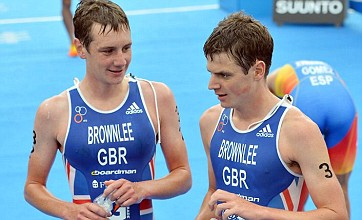Triathlete Alistair Brownlee makes winning return from injury lay-off