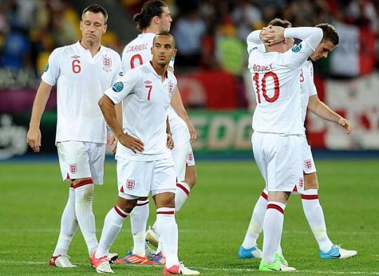England Euro 2012 Italy