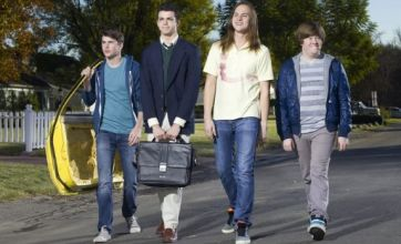 Inbetweeners fans remain sceptical as first picture released of US version