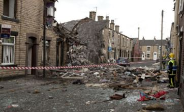 Oldham explosion victim 'was watching TV'