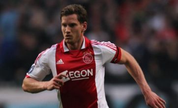 Tottenham target Jan Vertonghen expects to stay at Ajax
