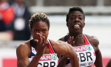 Disaster as GB women's 4x100m relay team miss out on London 2012 spot
