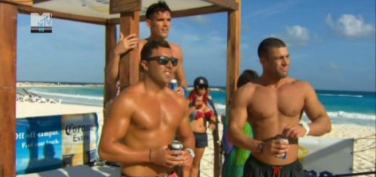 The Geordie Shore boys in Cancun