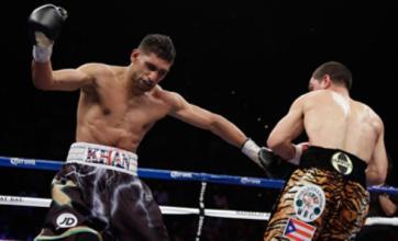 Amir Khan suffers shock fourth-round defeat to Danny Garcia
