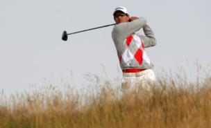 Adam Scott leads by four shots at Royal Lytham & St Annes (PA)