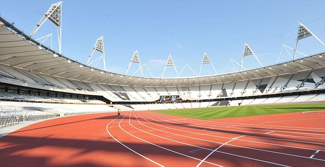 Olympic Stadium track