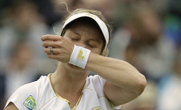 Kim Clijsters outclassed on Wimbledon swansong against Angelique Kerber