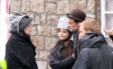 Doctor Who pictures hint at Catrin Stewart return as cast film series 7