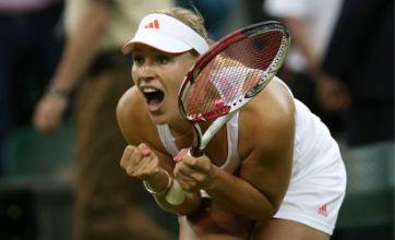 Angelique Kerber into Wimbledon final four after win over Sabine Lisicki