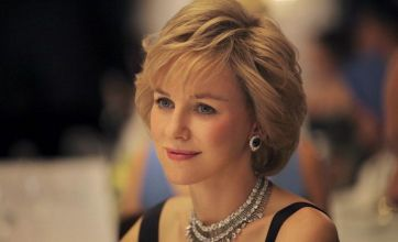 Naomi Watts looks regal as Princess of Wales in first still from Diana