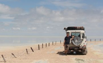 You won't see a soul for dust travelling the forgotten gravel roads of Namibia