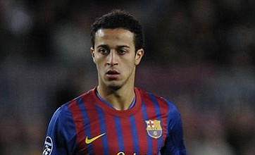 Barcelona's Thiago Alcantara ruled out of London 2012 Olympic football event