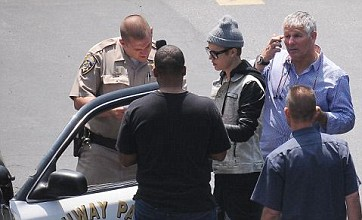 Justin Bieber blames paparazzi for 100mph car chase