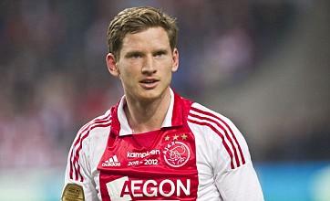 Jan Vertonghen to join Tottenham from Ajax in £9.5 million deal