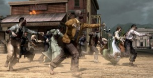 Red Dead Redemption: Undead Nightmare - emergent gameplay