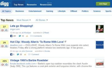 Social news site Digg sold for just £324,000 after being valued at £175m