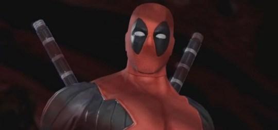 Deadpool - he likes to break things