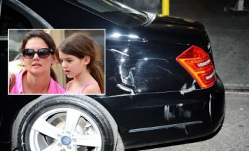 Katie Holmes and Suri Cruise 'involved in car crash in New York City'