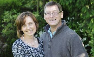 Wife donates kidney to husband for their silver wedding anniversary
