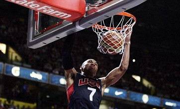 Team USA stars destroy GB basketballers in Olympic warm-up