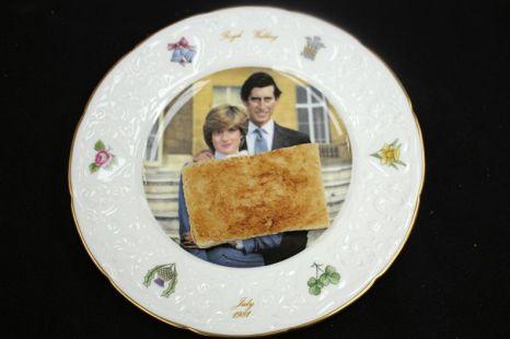 Prince Charles' wedding day toast, £230.