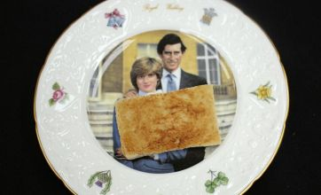 Prince Charles' 31-year-old uneaten wedding day toast sells for £230