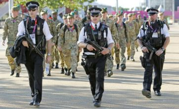London 2012 Olympics: Two troops at Games for every one in Afghanistan