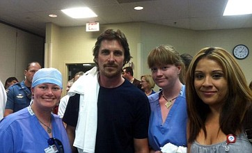 Christian Bale visits victims of Denver shootings in hospital