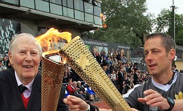 Bookies stop taking bets on Sir Roger Bannister lighting Olympic cauldron