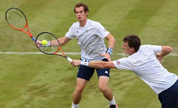 Murray brothers make first-round exit from doubles on mixed day for GB
