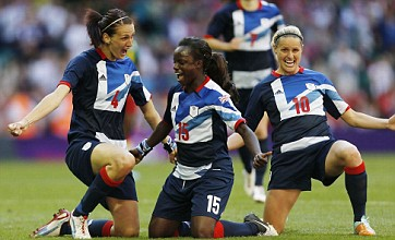 GB women ride the rough stuff against Cameroon to cruise into football quarters