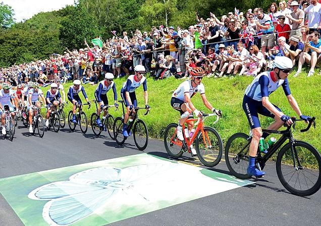 Olympic men's cycling race