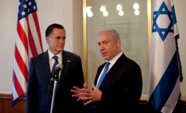 Mitt Romney 'would back Israeli strike upon Iran'
