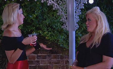 TOWIE goes back to the 80s for Joey's birthday party – but arguments fly