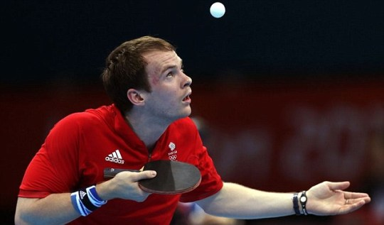 Paul Drinkhall table tennis