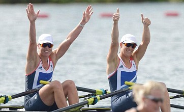 Team GB rowing pair smash Olympic record and ease through to final
