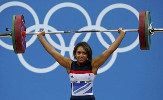 GB weightlifter Zoe Smith