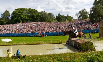 London 2012 equestrian cross country at Greenwich Park in 360 degrees