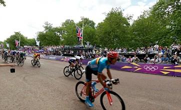 Mark Cavendish's London 2012 road race finish in 360 degrees