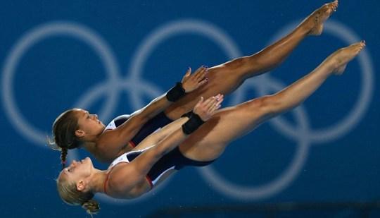London 2012 Olympics diving