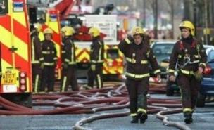 Forty firefighters tackled the fatal blaze in Hackney (PA)