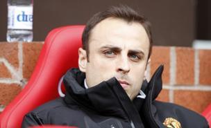 Dimitar Berbatov is keen to leave Manchester United (Allstar)