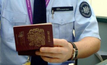 UK net immigration falls but government target not met