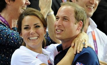 Prince William feared he and Kate would be caught on Games' 'kiss cam'