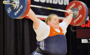 NFL star Nick Mangold jets in to see sister Holley's shot at Games glory