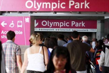 tube, London 2012 Olympics