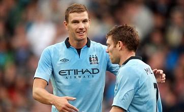 Edin Dzeko encourages Milan bid as he weighs up Manchester City future