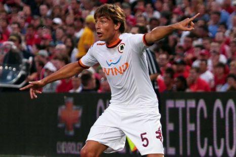 Roma's Gabriel Heinze, QPR.