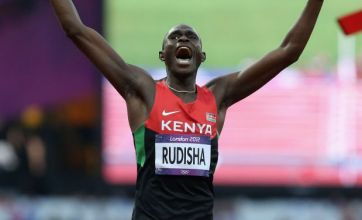 David Rudisha sets new world record with men's 800m Olympic gold